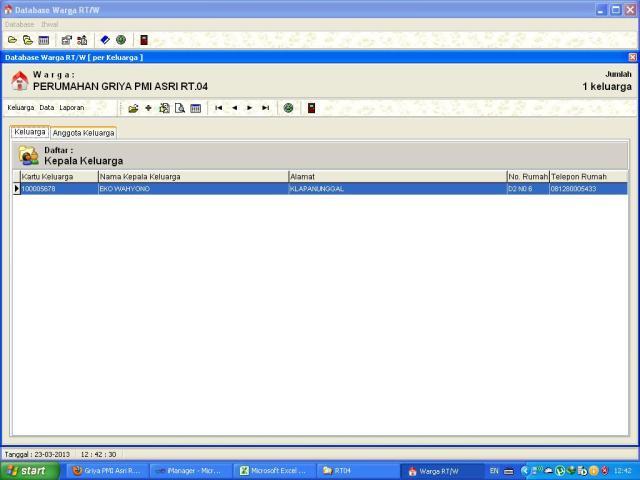 Sistem Admin RW 14